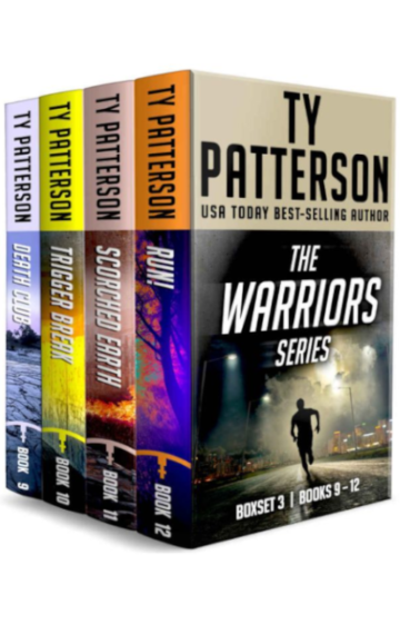 The Warriors Series Box Set 3: Books 9-12